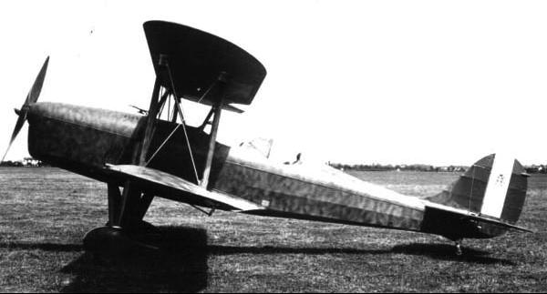 Учебно-тренировочный самолет Caproni Ca-164