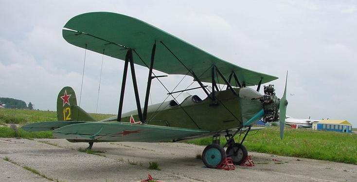 Учебно-тренировочный самолет У-2 (ПО-2)