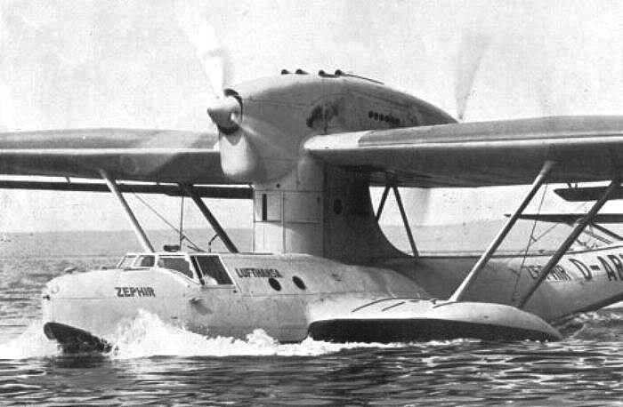 Летающая лодка-амфибия Dornier Do-18