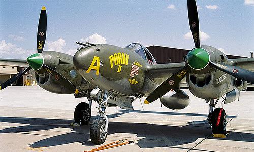 Истребитель Lockheed P-38J