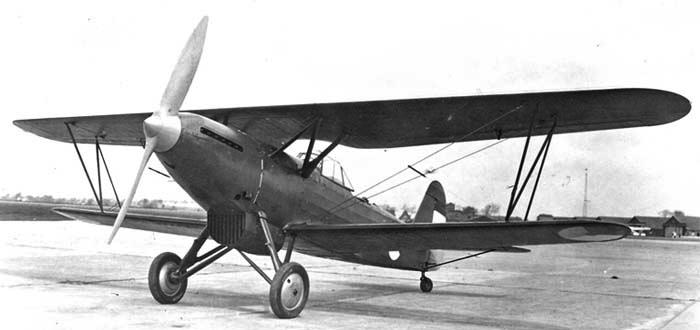 Ближний разведчик Fokker CХ c двигателем Kestrel