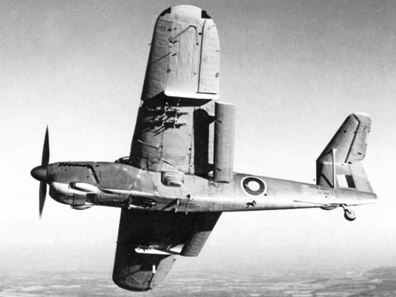 Торпедоносец Fairey Barracuda – Mk-II