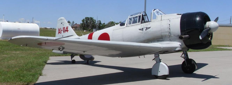 Палубный истребитель Mitsubishi A-6M2 Zero