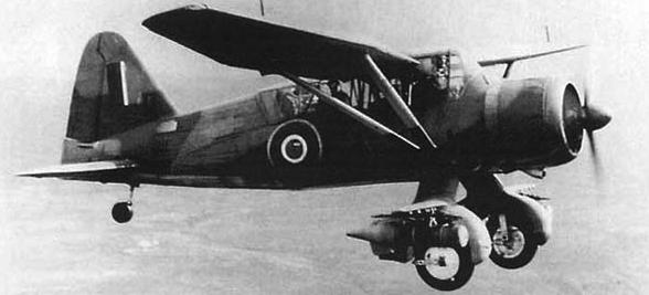 Многоцелевой самолет Westland Lysander