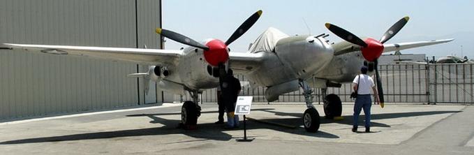 Истребитель Lockheed P-38L-5