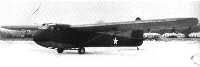 Десантный планер - CG-3A