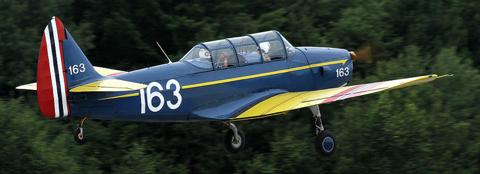Учебно-тренировочный самолет PT-26B (Cornell-III)