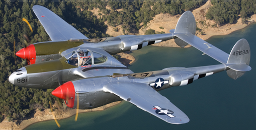 Истребитель Lockheed P-38L