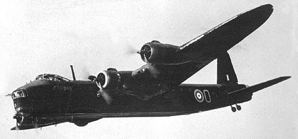 Бомбардировщик Short Stirling