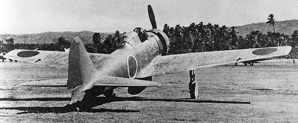 Палубный истребитель Mitsubishi A-6M3 Zero