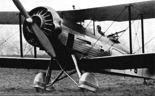 Вспомогательный самолет Westland Wallace