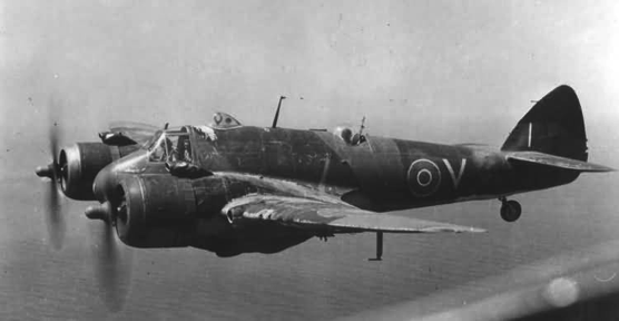 Истребитель Bristol Beaufighter