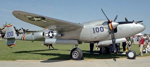 Истребитель Lockheed P-38M