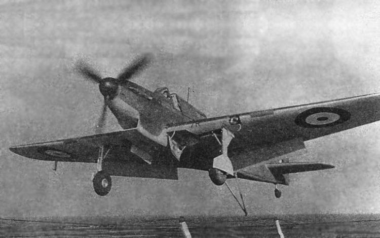 Истребитель Fairey Fulmar Mk-I