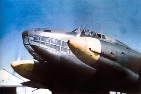 Торпедоносец Savoia-Marchetti SM.79JR
