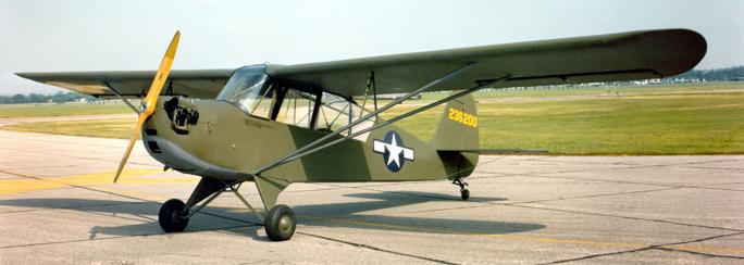 Многоцелевой самолет Aeronca L-3 Grasshopper