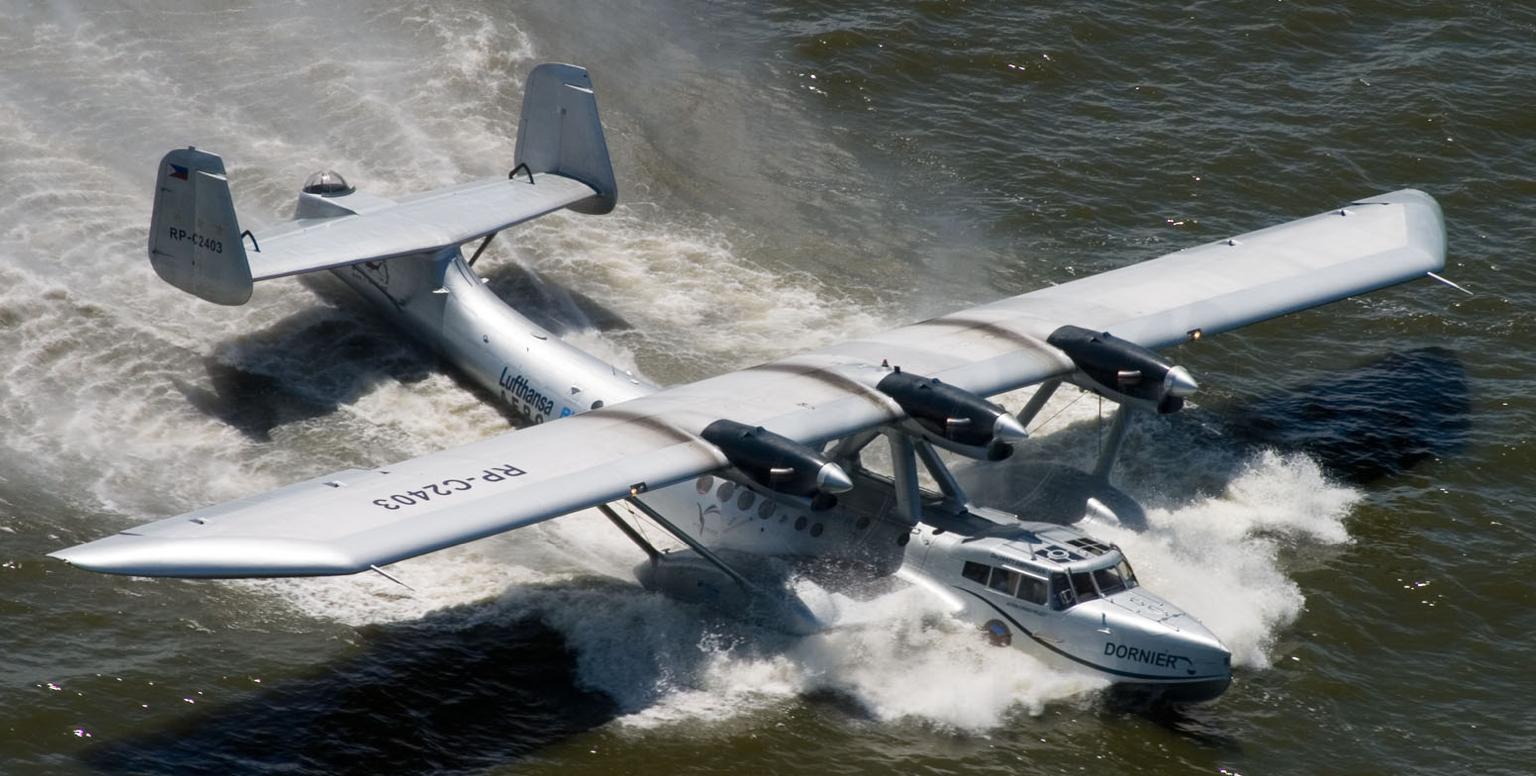 Летающая лодка-амфибия Dornier Do-24