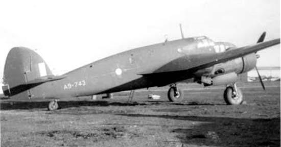 Транспортный самолет DAP Beaufort  Mk-IX