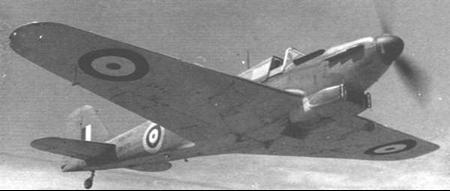 Истребитель Fairey Fulmar Mk-II