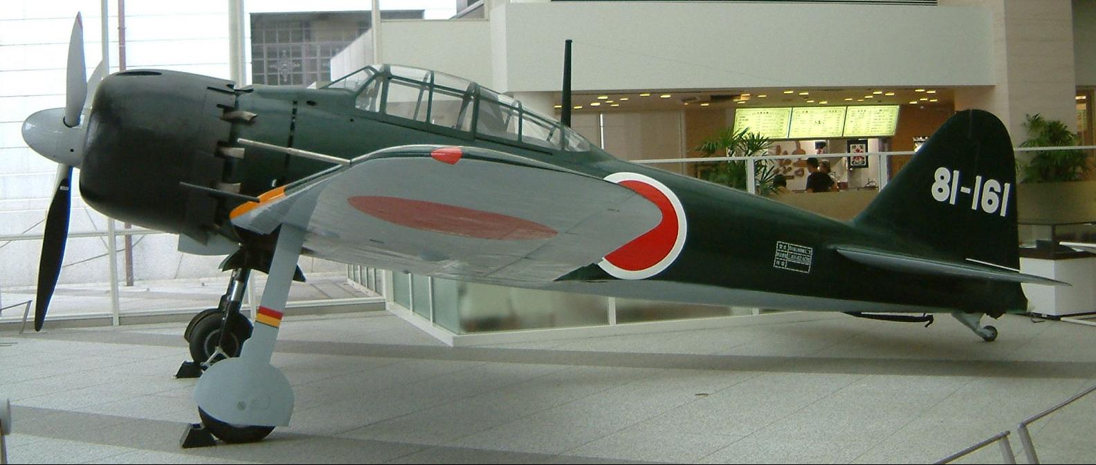 Палубный истребитель Mitsubishi A-6M5 Zero