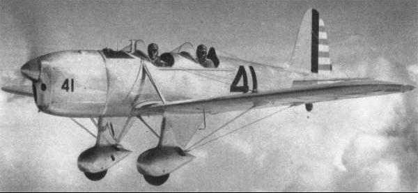 Учебно-тренировочный самолет Ryan - РТ-20