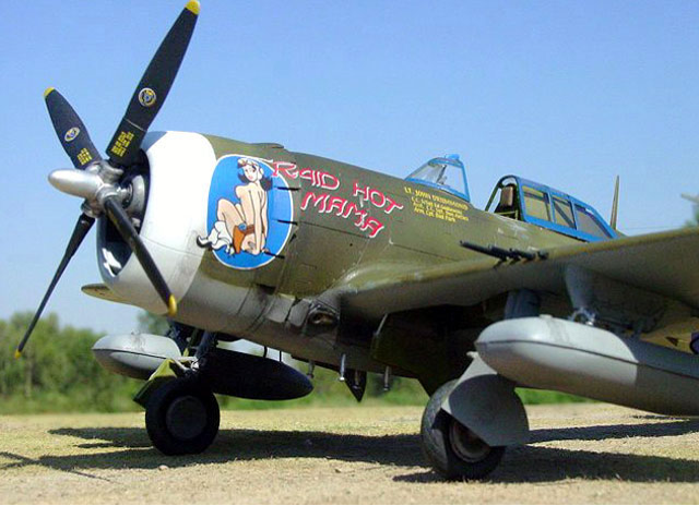 Истребитель Republic Thunderbolt P-47 D