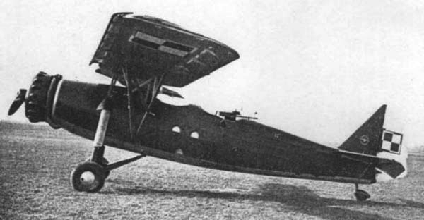 Ближний разведчик RWD-14 Czapla