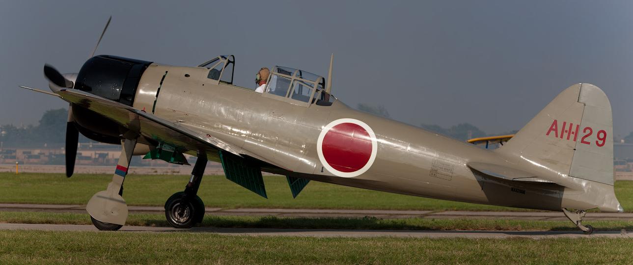 Палубный истребитель Mitsubishi Zero – A-6M6