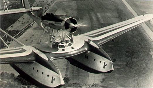 Летающая лодка-амфибия Savoia-Marchetti S-55