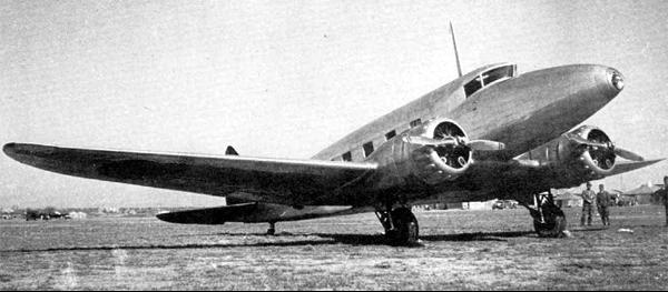 Транспортный самолет Nakajima Ki-34