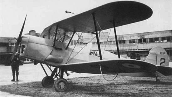 Многоцелевой самолет Stampe et Vertongen SV-4B