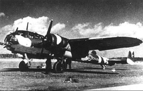 Разведчик Dornier Do-17Z-3