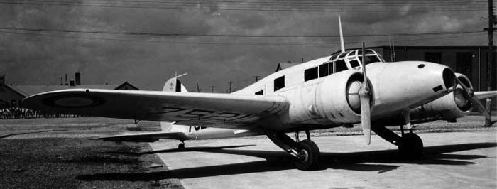 Патрульный самолет Avro Anson Mk-II