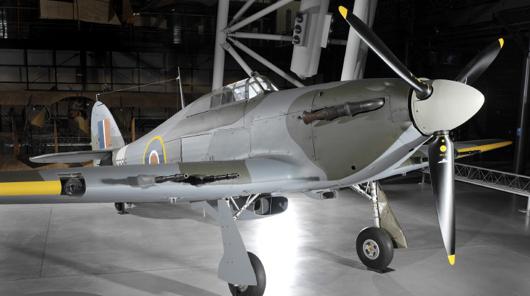 Палубный истребитель Hawker Sea Hurricane Mk-IIC