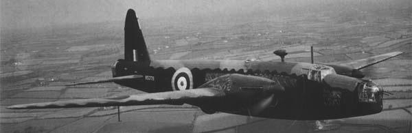 Средний бомбардировщик Vickers Wellingto Mk-II