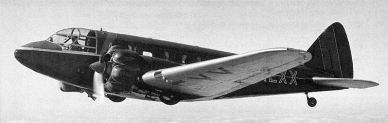 Транспортный самолет Airspeed AS-6 Envoy