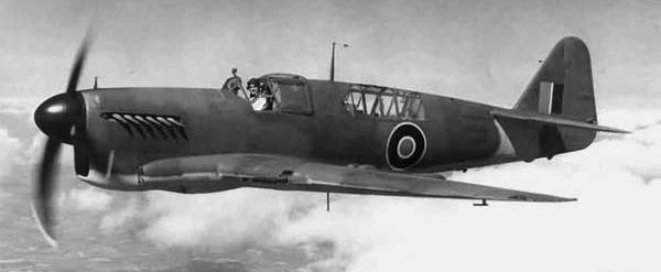 Палубный истребитель Fairey Firefly Mk.I