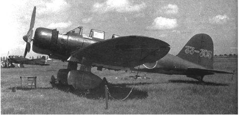 Палубный торпедоносец Mitsubishi B-5M (Тип 97)