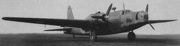 Бомбардировщик Vickers Wellington Mk-III