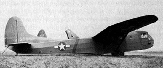 Транспортно-десантный планер Waco CG-15 (CG-15A)