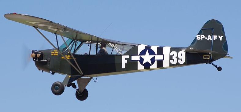 Многоцелевой самолет Piper L-4 Grasshopper