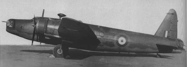 Бомбардировщик Vickers Wellington Mk-IV