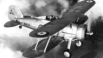 Истребитель Gloster Gladiator Mk-II