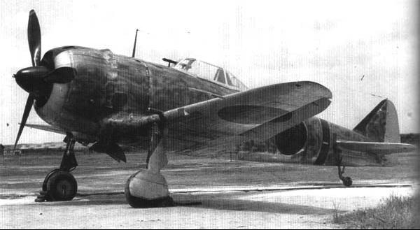 Истребитель Nakajima Ki-44 Shoki