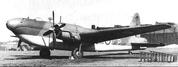 Бомбардировщик Vickers Wellington Mk-V