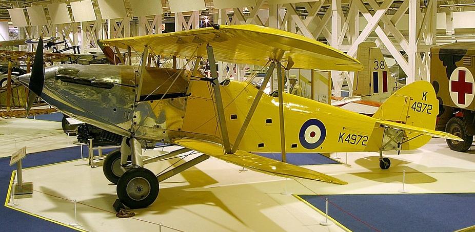 Ближний разведчик Hawker Audax