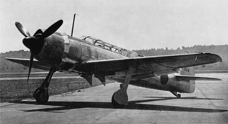 Палубный разведчик Nakajima C-6N1 Saiun