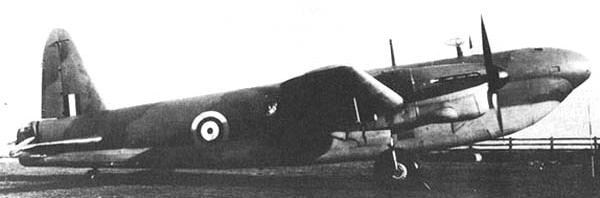 Бомбардировщик Vickers Wellington Mk-VI