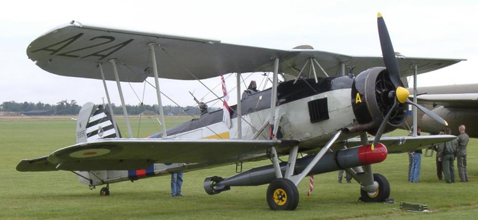 Торпедоносец Fairey Swordfish Mk-I
