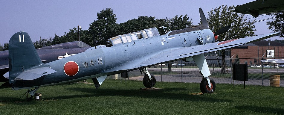 Торпедоносец Nakajima B-6N Tenzan